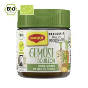 Maggi Ideen vom Wochenmarkt Bio Bouillon