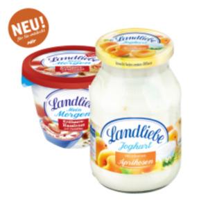 Landliebe Joghurt mit Früchten oder Landliebe Mein Morgen mit Cerealien