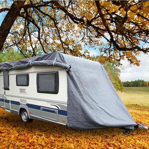 Green Yard              Abdeckplane für Wohnwagen oder Wohnmobile Größe XXL, 730 x 250 x 220 cm