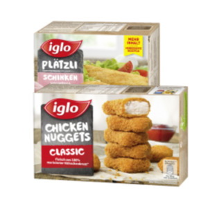 Iglo Hähnchenprodukte oder Plätzli