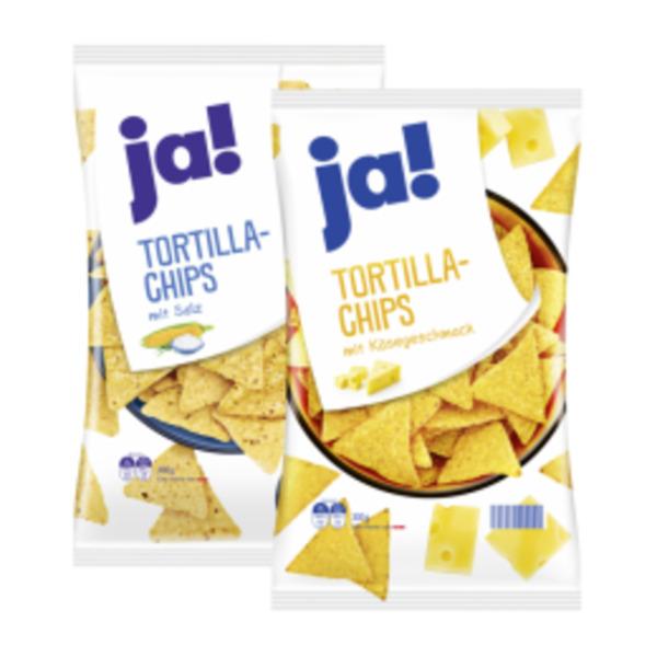 ja! Tortilla Chips Käse oder Salz