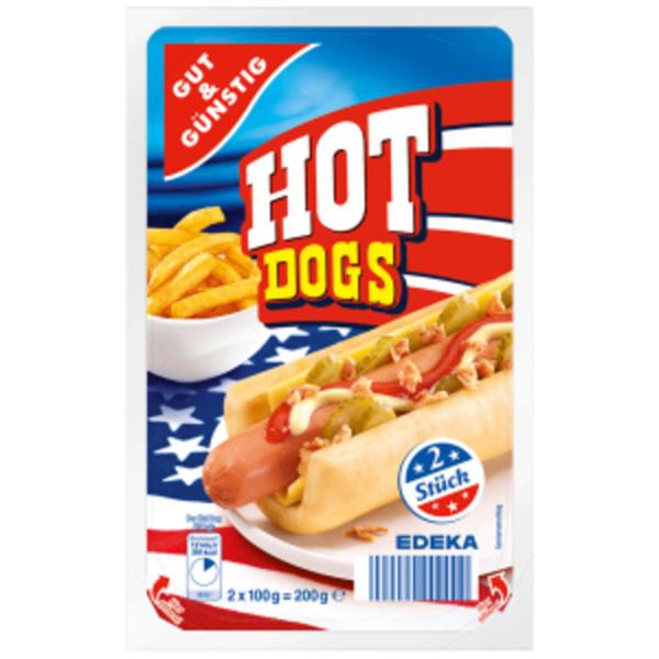 Gut & Günstig Hot Dogs