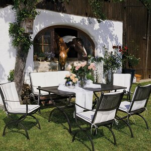 MBM Gartentisch   Romeo 90 x 160 cm, Eisen