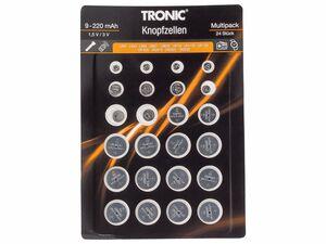 TRONIC® 24 Knopfzellen