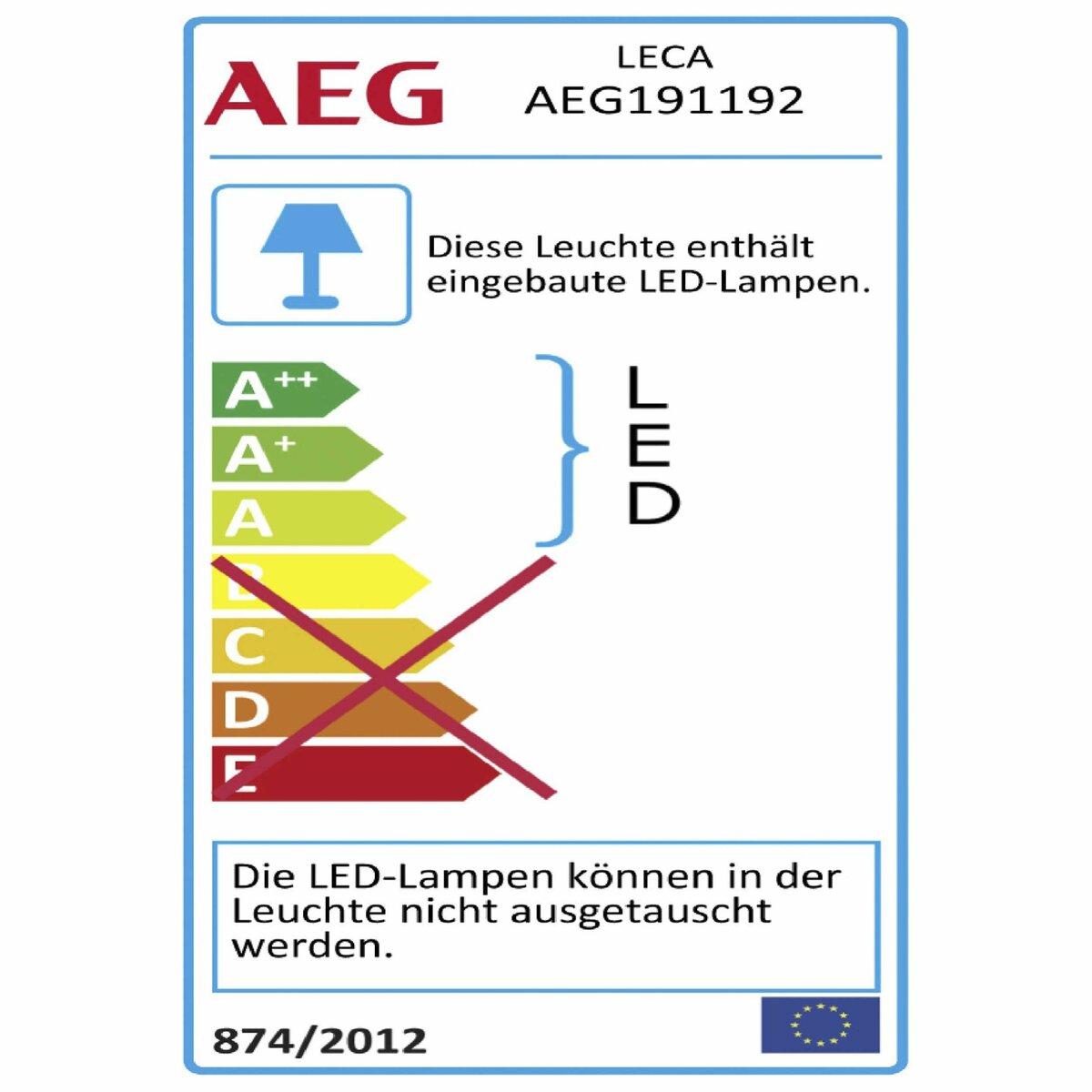 Bild 3 von AEG LED-Deckenleuchte   Leca