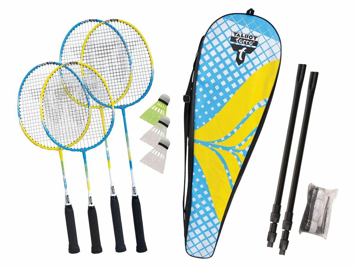 """Bild 1 von Talbot-Torro Badminton Set """"Family"""""""