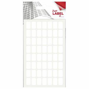 Wäsch Vielzweck-Etiketten 13 mm  x  8 mm Weiß - 384 Stück