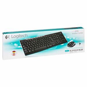 Logitech Kabellose Tastatur und Maus MK270