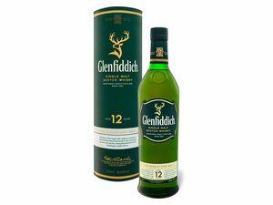 Glenfiddich Signature Speyside Single Malt Scotch Whisky 12 Jahre mit Geschenkbox 40% Vol
