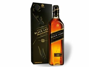 Johnnie Walker Black Label Blended Scotch Whisky 40% Vol
