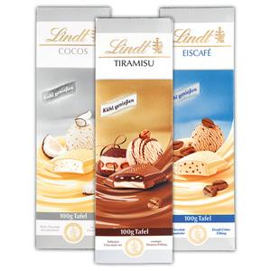 "Lindt Tafelschokolade ""Eis-Spezialitäten"""