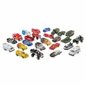 Street Machine - Die-cast Fahrzeuge-Set, 25 Stück