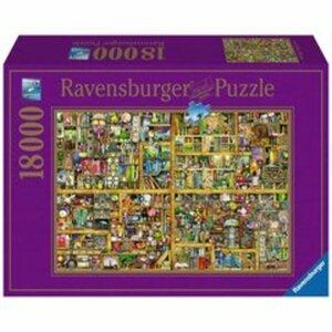 Ravensburger - Puzzle: Magisches Bücherregal XXL, 18000 Teile