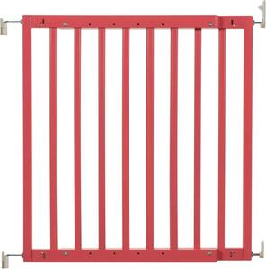 badabulle Holz Türschutzgitter Rot