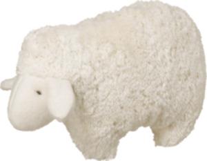 ALANA Baby-Kuscheltier Schaf, in Bio-Baumwolle und Schurwolle, weiß