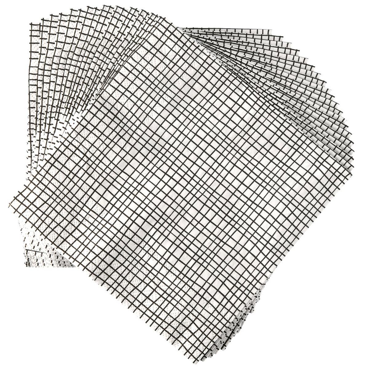 Bild 1 von 20 Servietten im Streifen-Look