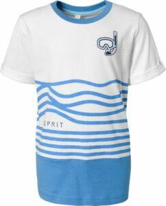 T-Shirt weiß Gr. 116/122 Jungen Kinder