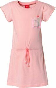 Kinder Jerseykleid mit Pailletten altrosa Gr. 116 Mädchen Kinder