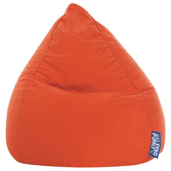 Carryhome SITZSACK Mikrofaser Orange