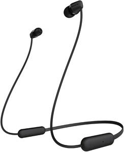 Sony WIC200B Bluetooth-Kopfhörer schwarz
