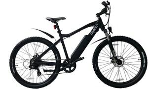 CityBlitz Mountain E-Bike mattschwarz