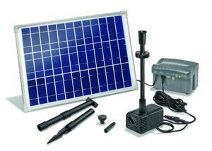 Solar Pumpensystem Siena - mit LED Beleuchtung Esotec