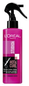 L'Oréal Studio Line Hot & Curl Thermo-Lockenspray 200 ml