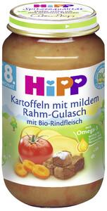Hipp Bio Kartoffeln mit mildem Rahmgulasch ab dem 8. Monat 220 g