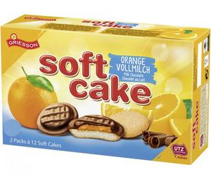 Griesson Soft Cake Vollmilch-Orange 300 g