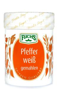 Fuchs Pfeffer weiß gemahlen 60 g
