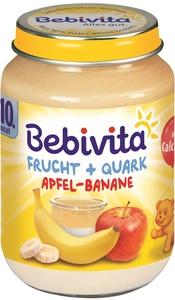 Bebivita Frucht + Quark Apfel-Banane ab dem 10. Monat 190 g
