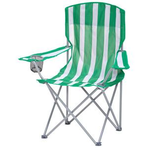 Regiestuhl (grün-weiß, zusammenklappbar)