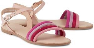 Trend-Sandale von COX in rot für Damen. Gr. 36