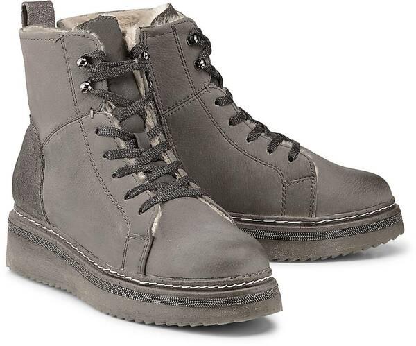 Winter-Sneaker von COX in grau für Damen. Gr. 37,38,39,40,41