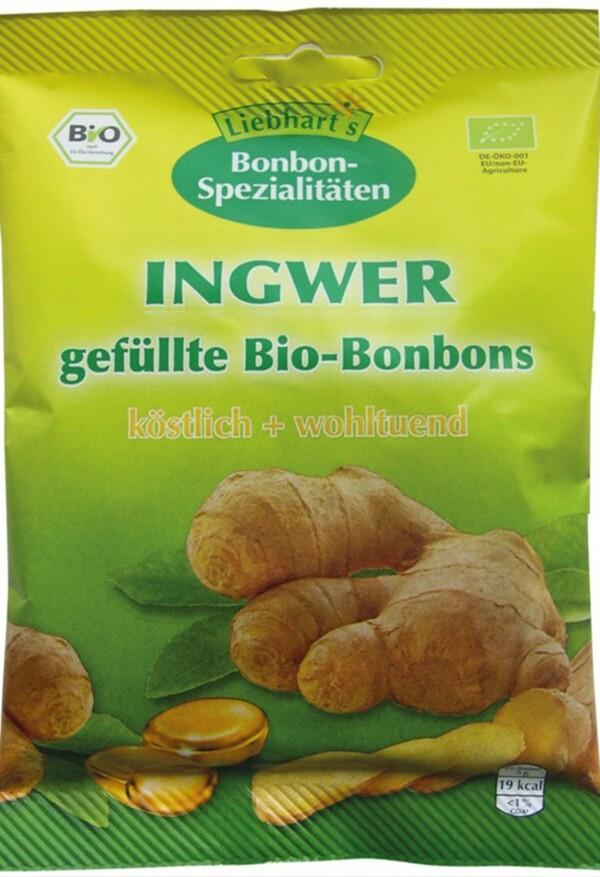 Liebhart's Gesundkost Bio Ingwer Bonbons 100 g