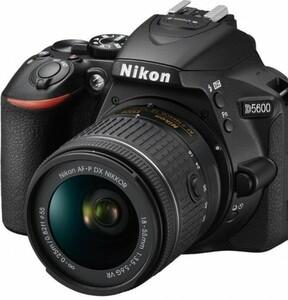 Nikon Spiegelreflexkamera D5600 ,  schwarz