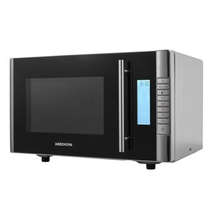 MEDION 2in1 Mikrowelle MD 14482, Kombination aus Mikrowelle & Grill, 8 Automatikprogramme