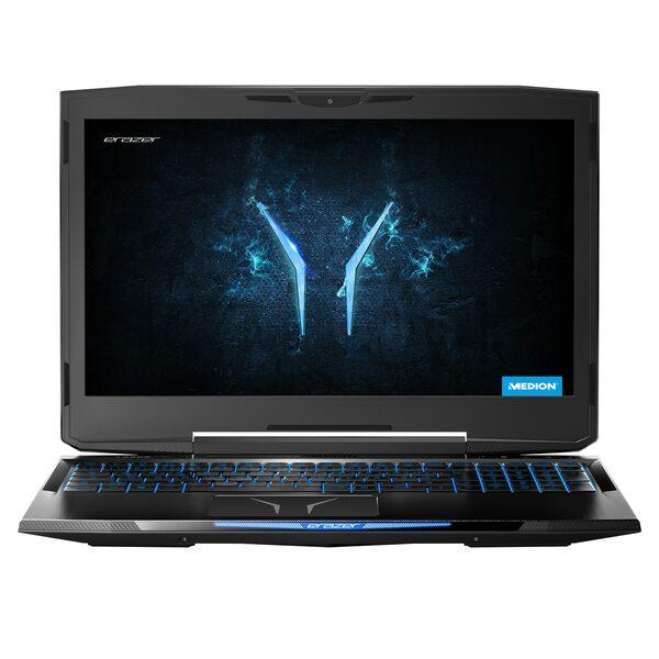 "MEDION ERAZER® X6805, Intel® Core™ i7-8750H, Windows10Home, 39,6 cm (15,6"") FHD Display, GTX 1060, 512 GB SSD, 32 GB DDR4 RAM, Gaming Notebook + GRATIS Notebook Tasche"