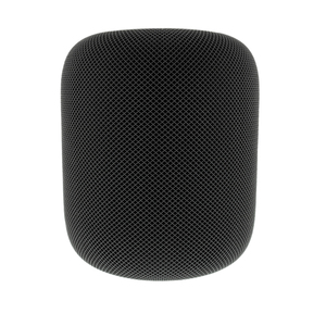 Apple HomePod - Space Grau (MQHW2D/A), Smart Speaker, Sprachsteuerung, Multiroom, Apple HomeKit