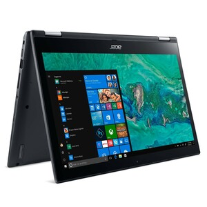 """Acer Spin 3 (SP314-52-33FP) Convertible Notebook 14"""" Touch FHD IPS, Core i3-8145U, 4GB RAM, 1000GB HDD + 16GB Optane, Win 10"""