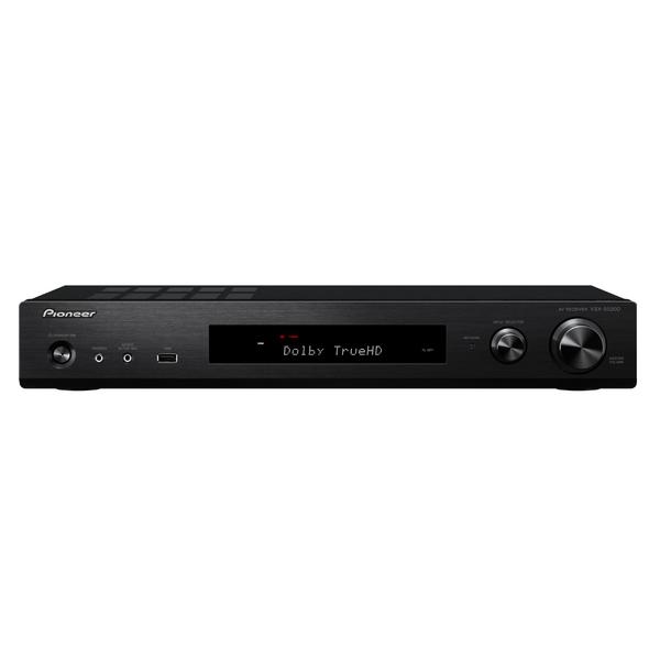 Pioneer VSX-S520-B (Schwarz) - 5.1 AV-Receiver (80 Watt/ Kanal, Bluetooth, Wi-Fi, LAN, Dolby Atmos)