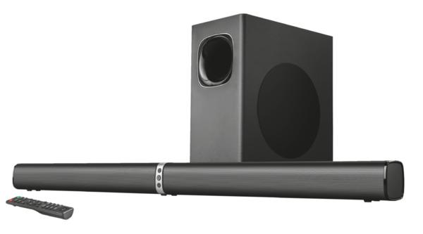 Trust Lino XL 2.1 All-round Soundbar mit Subwoofer und Bluetooth