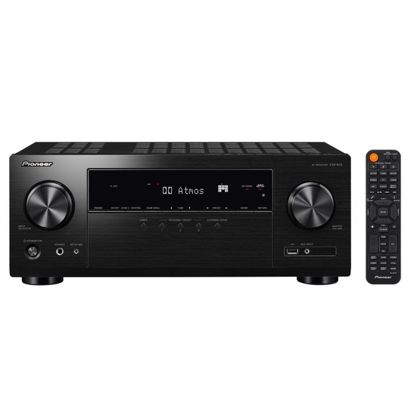 Pioneer VSX-934-B Schwarz - 7.2 AV-Receiver (135 Watt/Kanal, Bluetooth, Wi-Fi, Dolby Atmos)