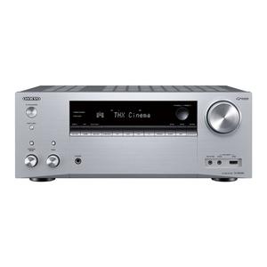 ONKYO TX-NR696-S - 7.2-Kanal AV-Netzwerk-Receiver (silber) (175 Watt/Kanal, LAN, Wi-Fi, Bluetooth)