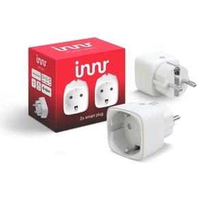 Innr 2x Smart Plug SP 120, smarte Steckdose, Philips Hue und Osram Lightify kompatibel