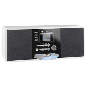 """Imperial Dabman i200 CD [weiß] - 2,8"""" (7,2 cm) TFT-Farbdisplay, DAB+ Radio mit CD-Player, Stereo, UKW, WLAN, Aux In, Line Out"""