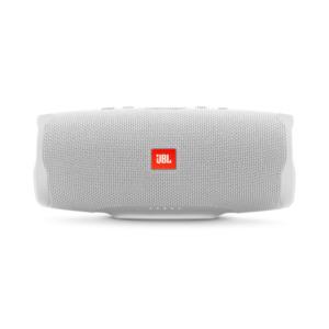 JBL Charge 4 (weiß) - Bluetooth-Lautsprecher (30W, Bluetooth 4.2, spritzwassergeschützt, JBL Connect+)