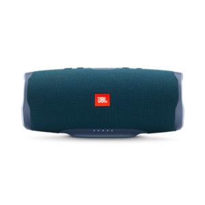 JBL Charge 4 (blau) - Bluetooth-Lautsprecher (30W, Bluetooth 4.2, spritzwassergeschützt, JBL Connect+)
