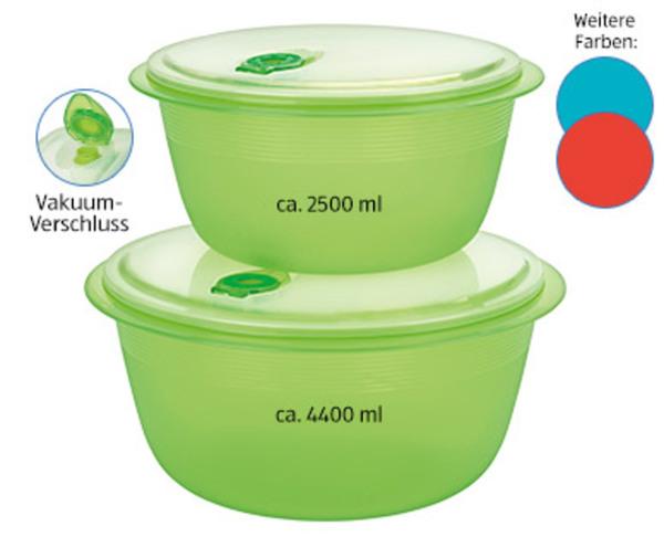 CROFTON®  Vakuum-Frischhaltedosen-Set, 2- bzw. 3-tlg.