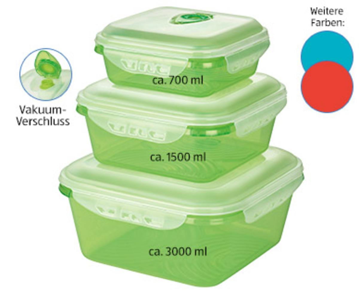 Bild 2 von CROFTON®  Vakuum-Frischhaltedosen-Set, 2- bzw. 3-tlg.